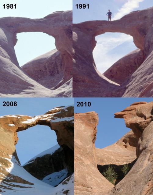 Arrowhead Arch Demise