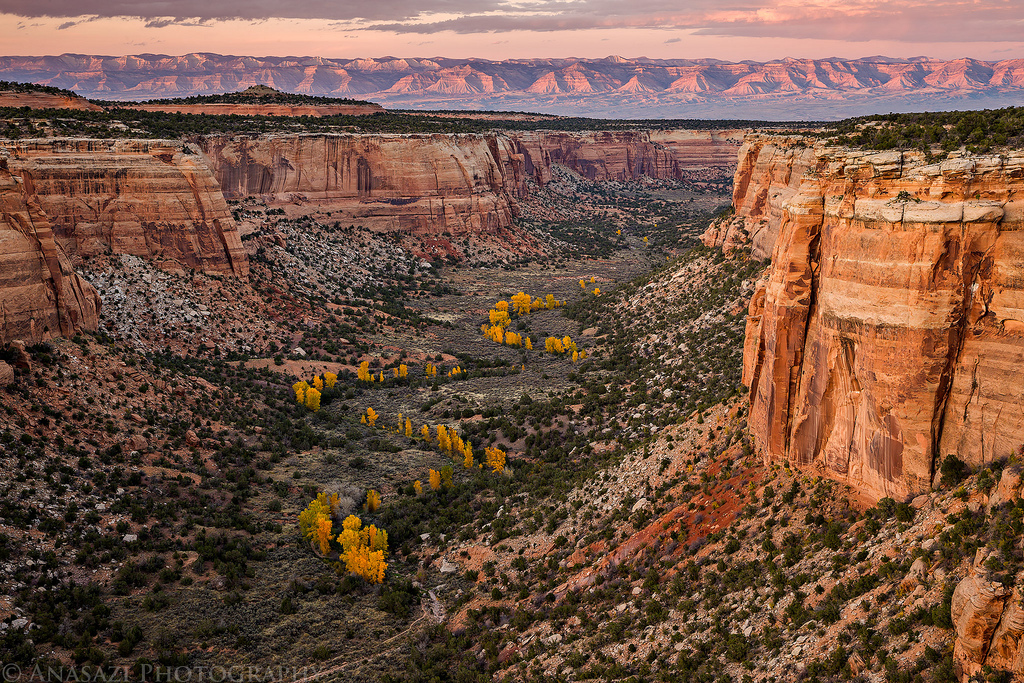 Fall in the Colorado National Monument