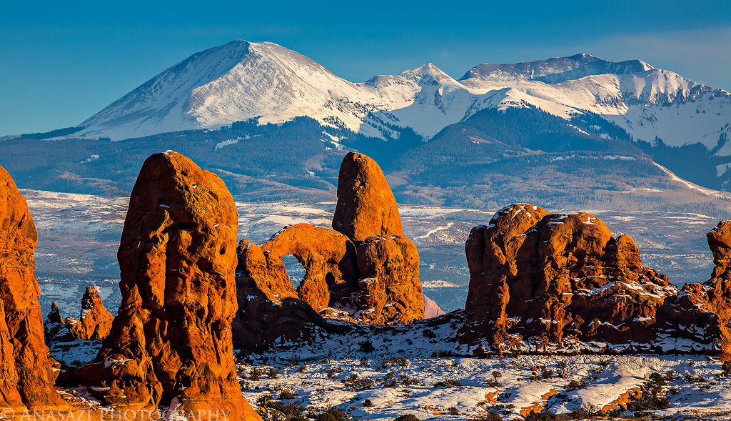 Christmas in Arches