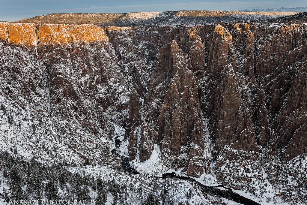 Black Canyon Snowshoeing