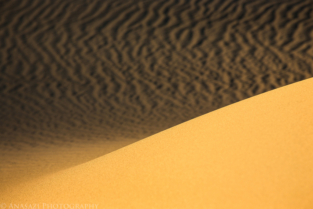 Eureka Dunes to the Mesquite Dunes