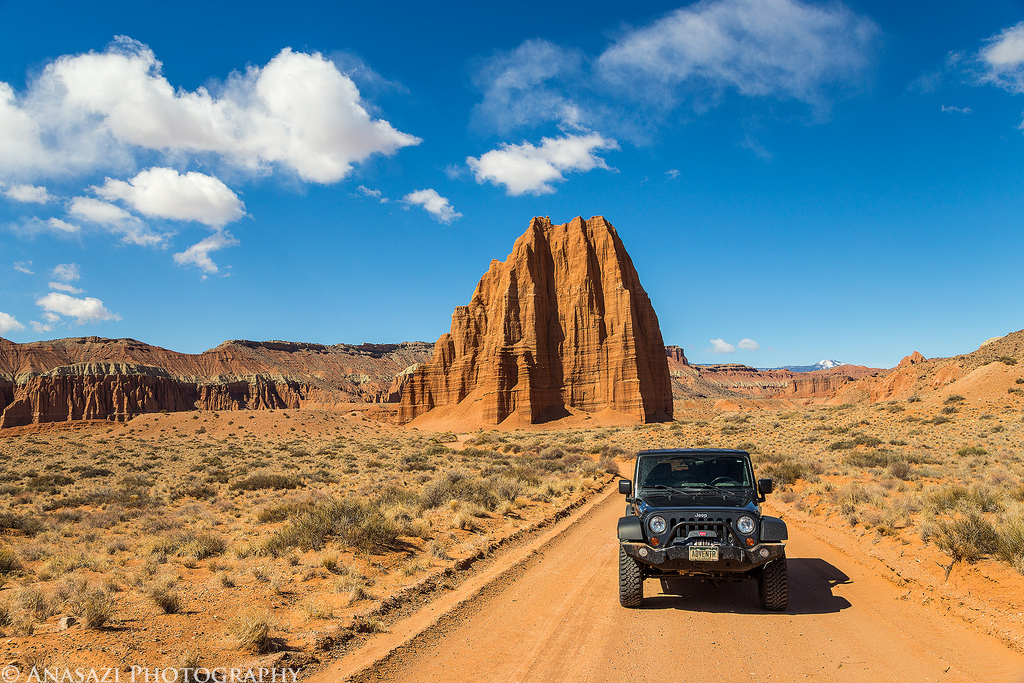 Quick Cathedral Valley Trip