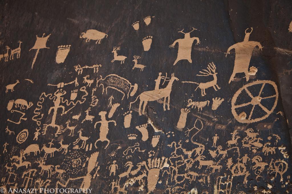 Newspaper Rock Petroglyphs