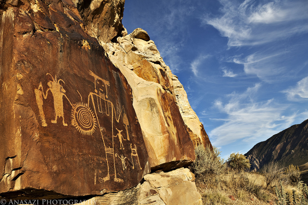 Dinosaur Bones & Petroglyphs