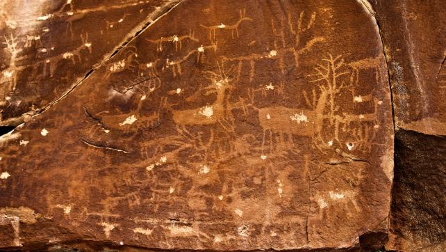 Escalante Canyon Petroglyphs