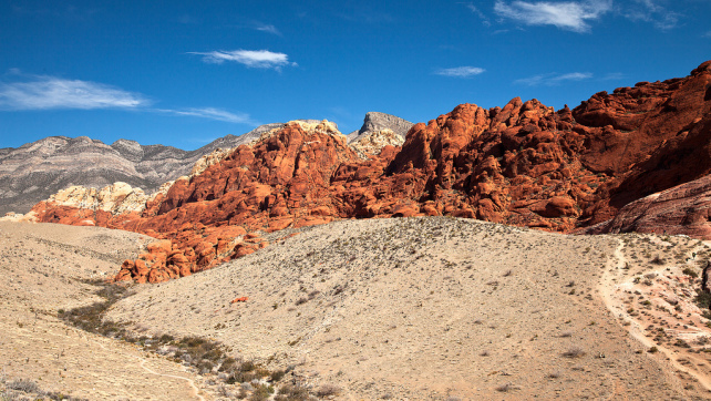A Morning in Red Rock Canyon