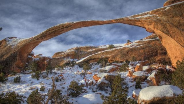 Winter in Arches
