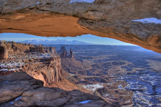Winter in Canyonlands