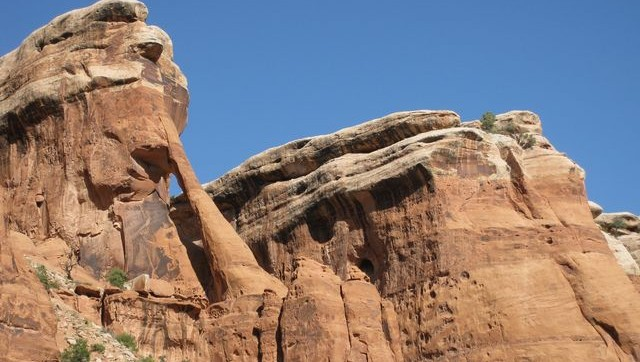 Short Trip Through Four Arches Canyon