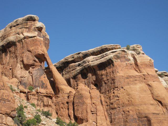 Short Trip Through Four Arches Canyon