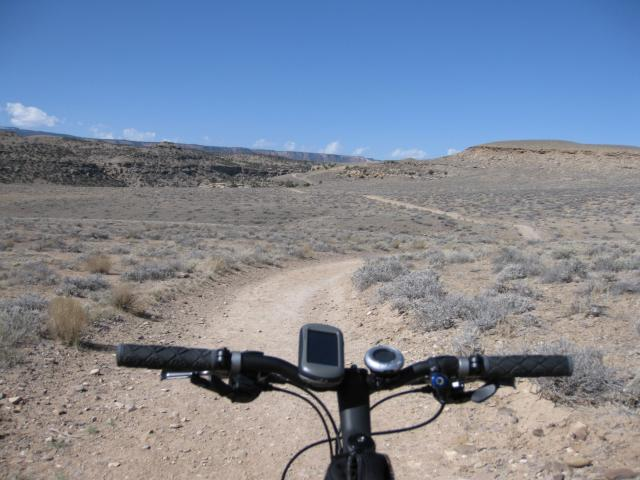 Biking the Gunnison Bluffs
