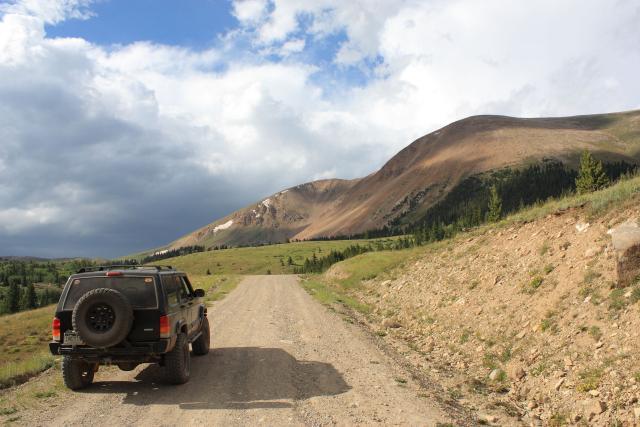 Marshall Pass to Weston Pass