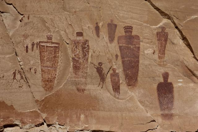 Horseshoe Canyon Pictographs