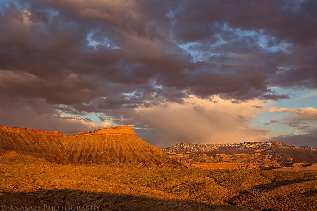 Mount Garfield Sunset