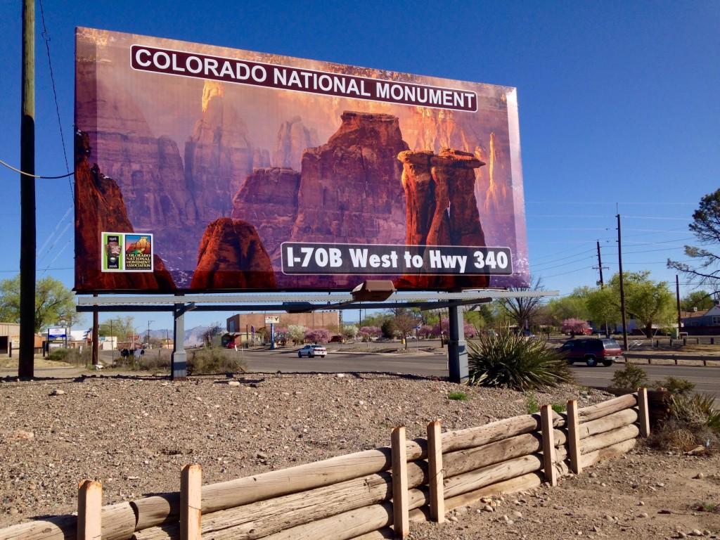 Colorado National Monument Billboard