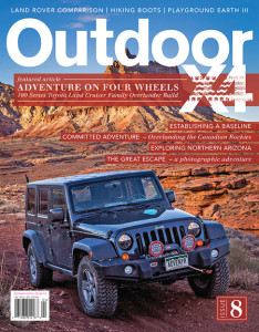 OutdoorX4 Issue #8 Cover