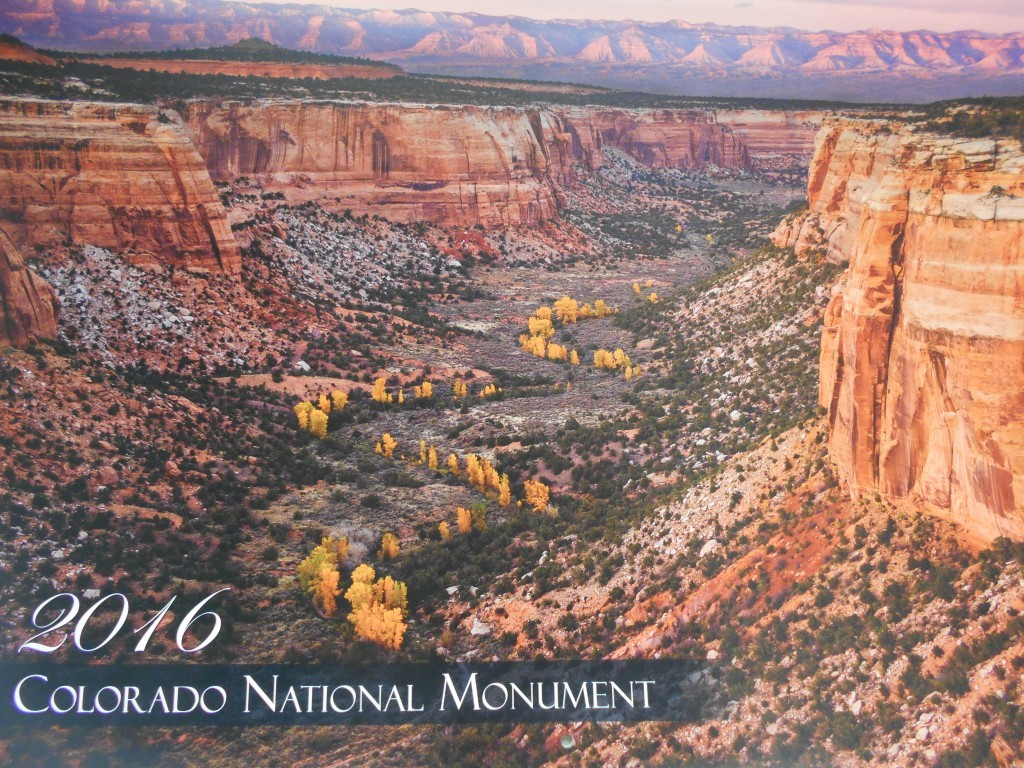 2016 Colorado National Monument Calendar