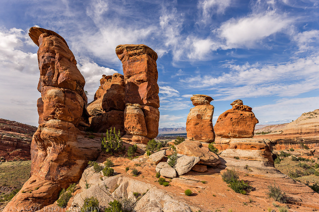 Snapshots from No Thoroughfare Canyon