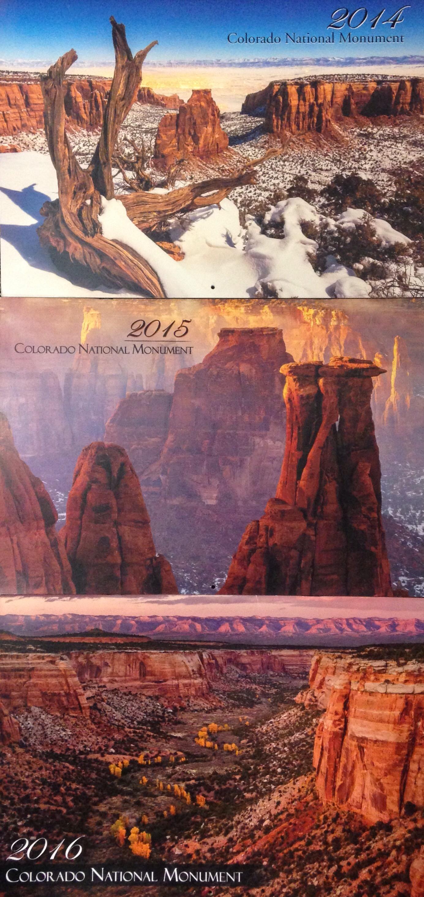 Colorado National Monument Calendars