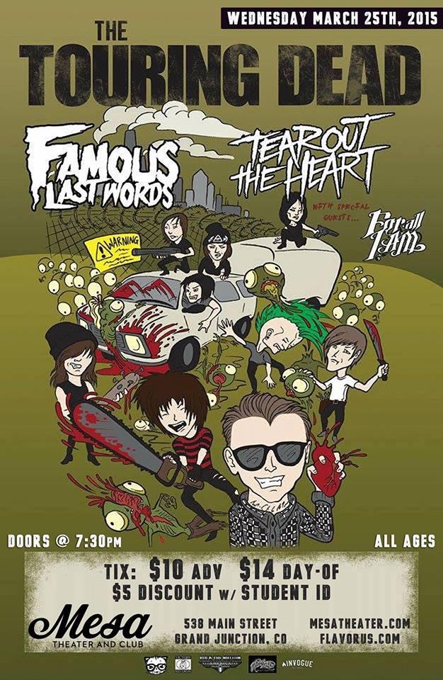 Famous Last Words 2015