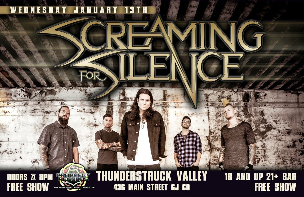 Screaming for Silence 2016