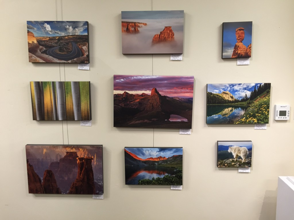 Initial Gallery Wall