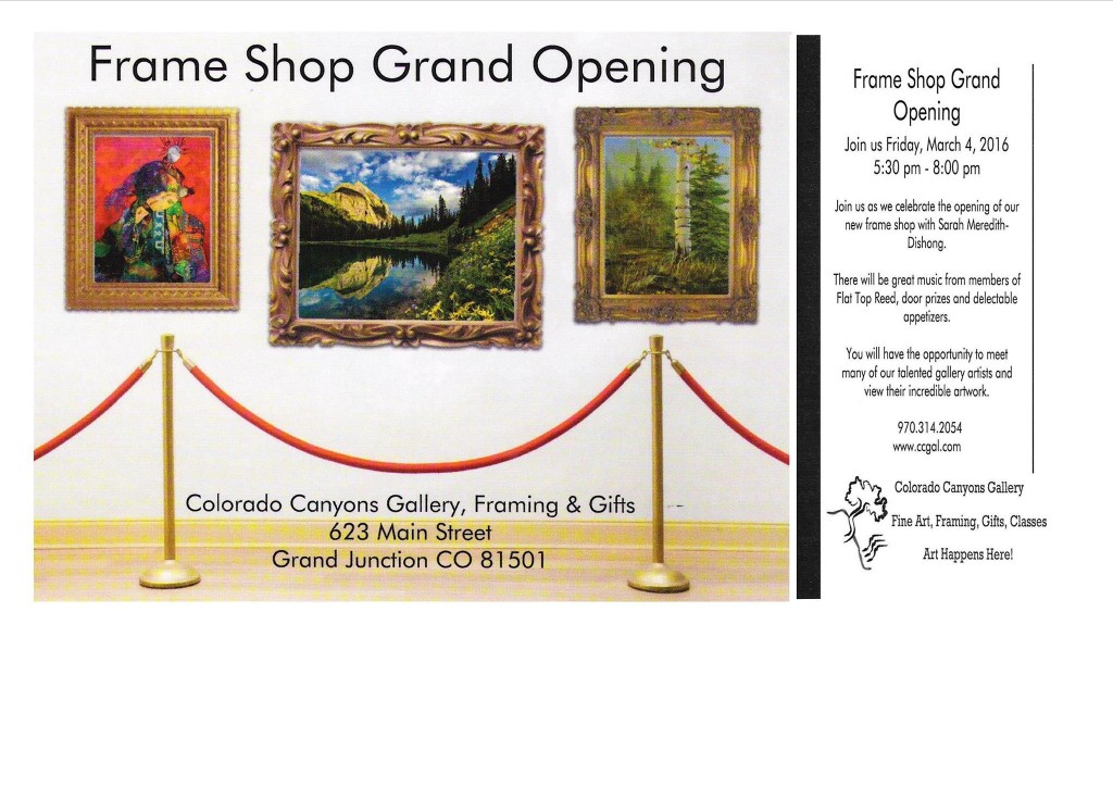 Colorado Canyons First Friday