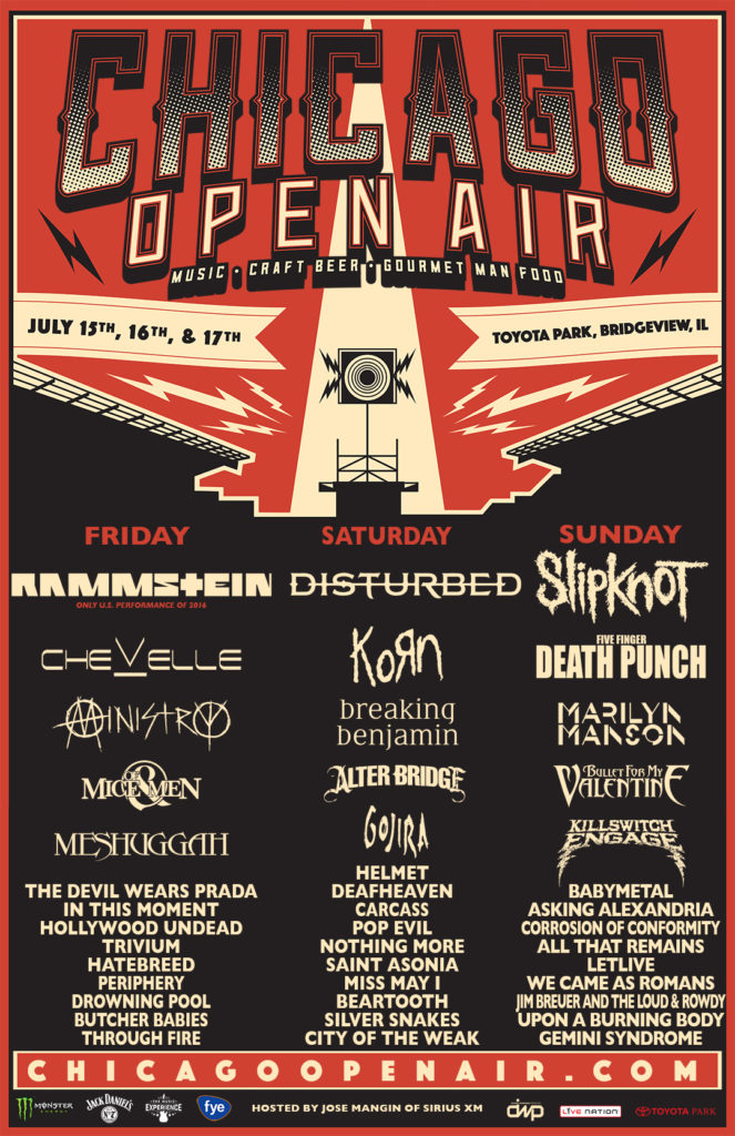 Chicago Open Air 2016