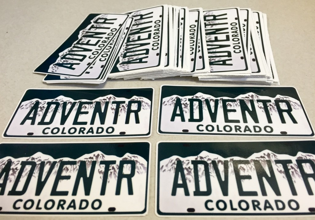 ADVENTR Stickers