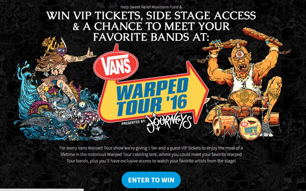 Warped Tour VIP