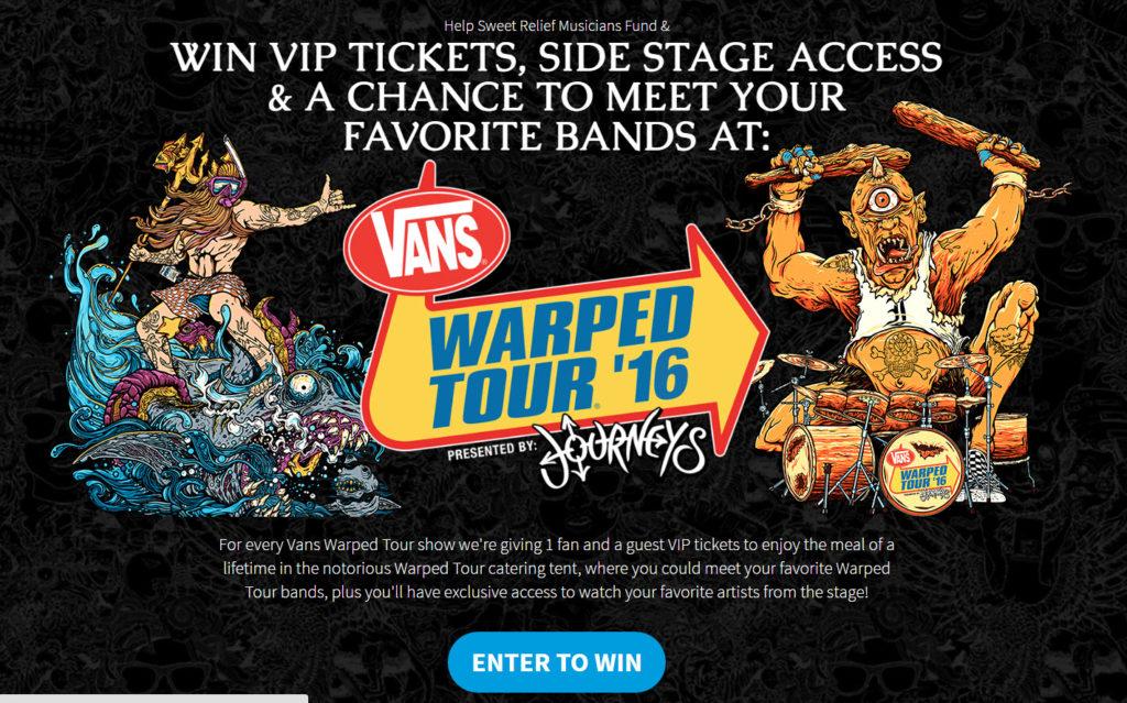 Warped Tour VIP