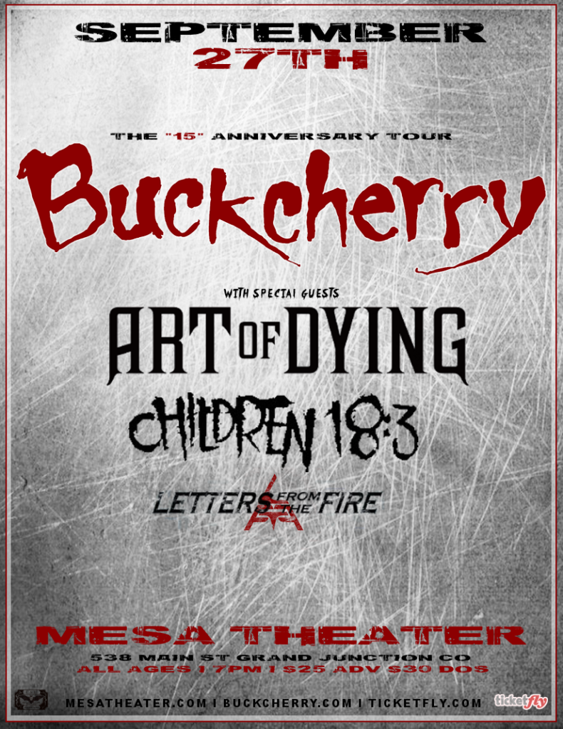 Buckcherry 2016