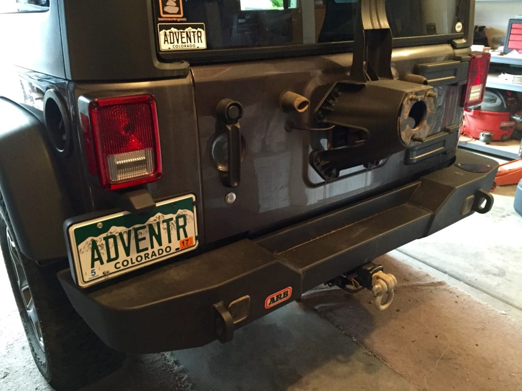 Rear Bumper 2016