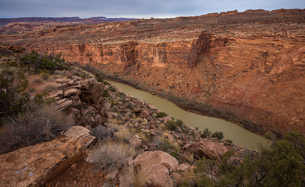 Colorado River Canyon
