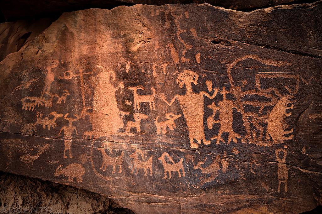 Daddy Canyon Petroglyphs
