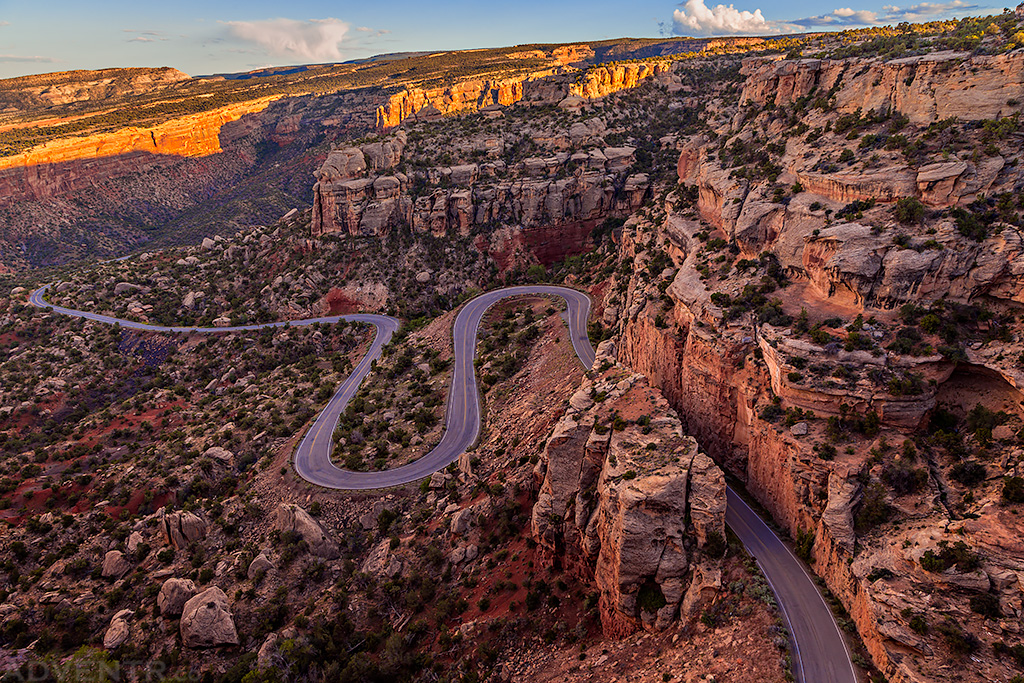Rim Rock Drive Switchbacks