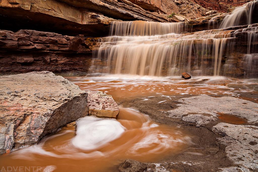 Slickhorn Falls
