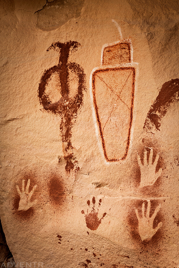 Square Head Pictographs