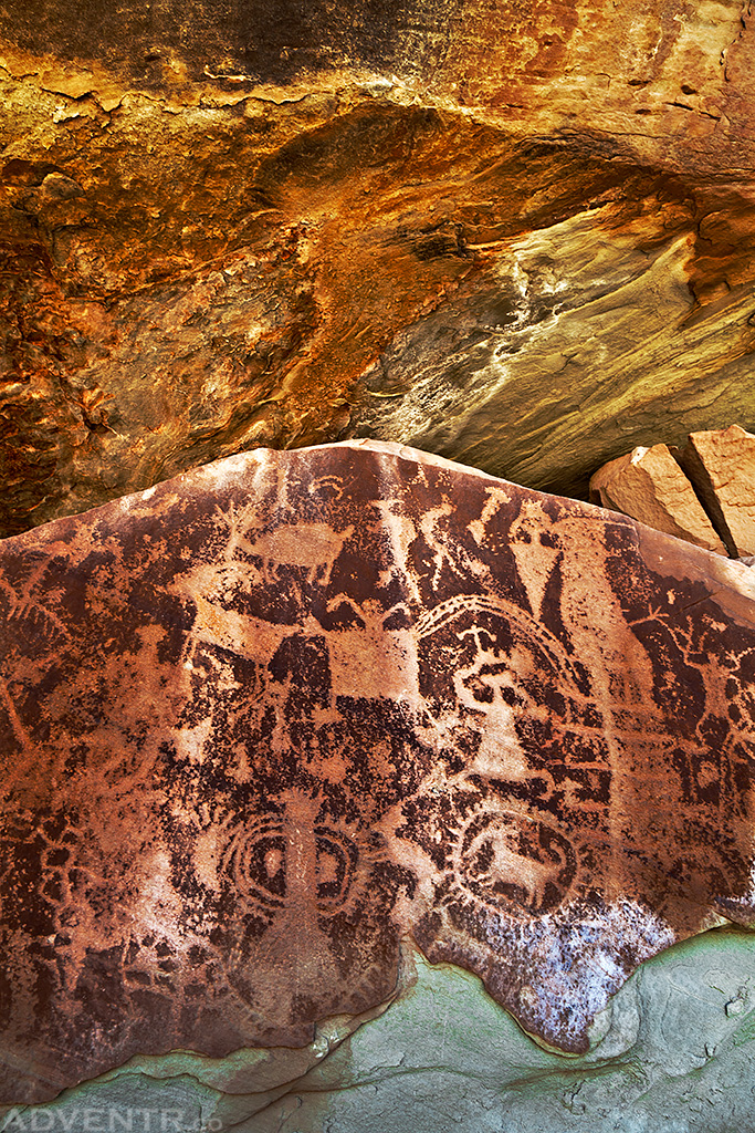 Cedar Mountain Petroglyphs