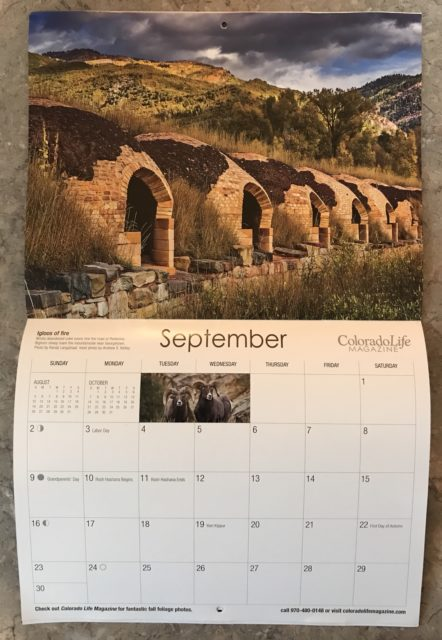Exploring Colorado 2018 Calendar