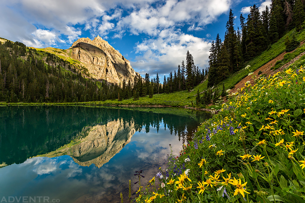 Blue Lake Sunrise