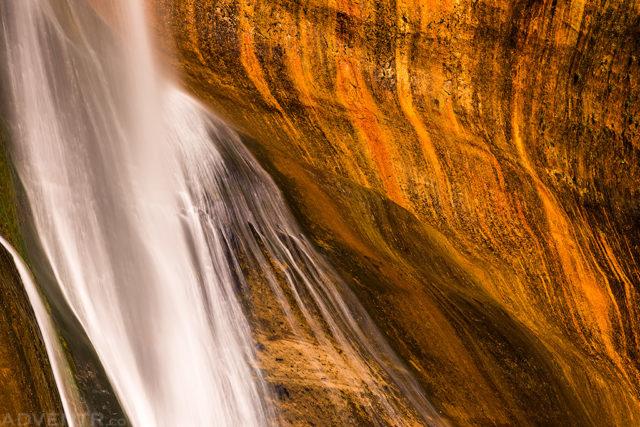Calf Creek Falls Detail
