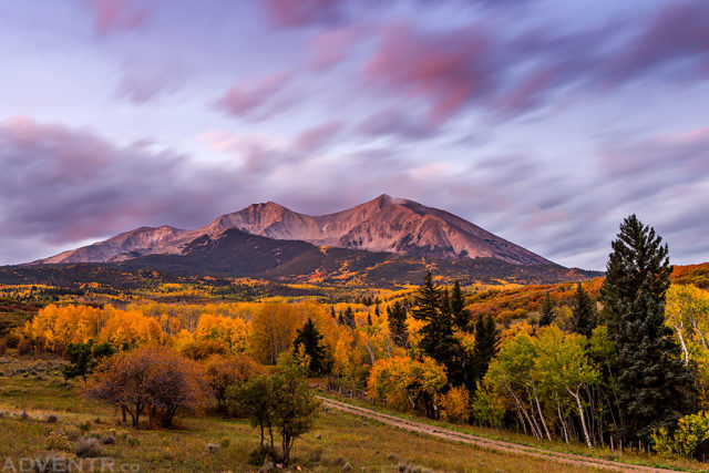 Mount Sopris Dawn
