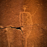 Barrier Canyon Style Petroglyph