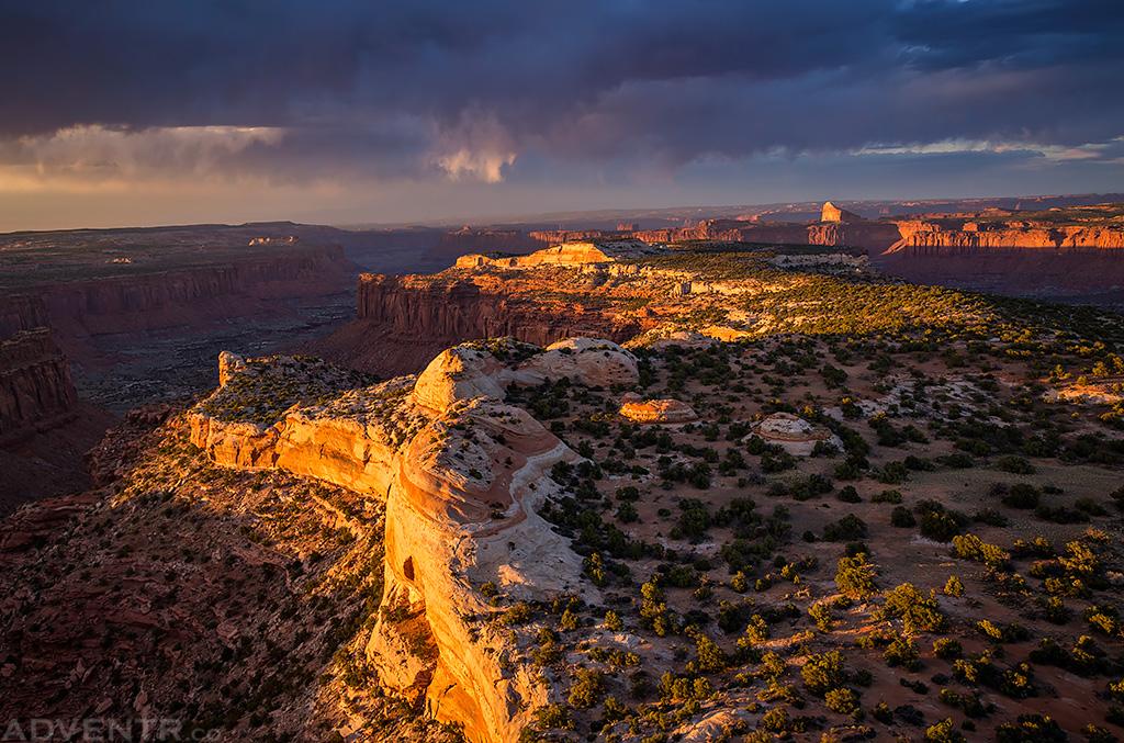 Observation Rock Sunset