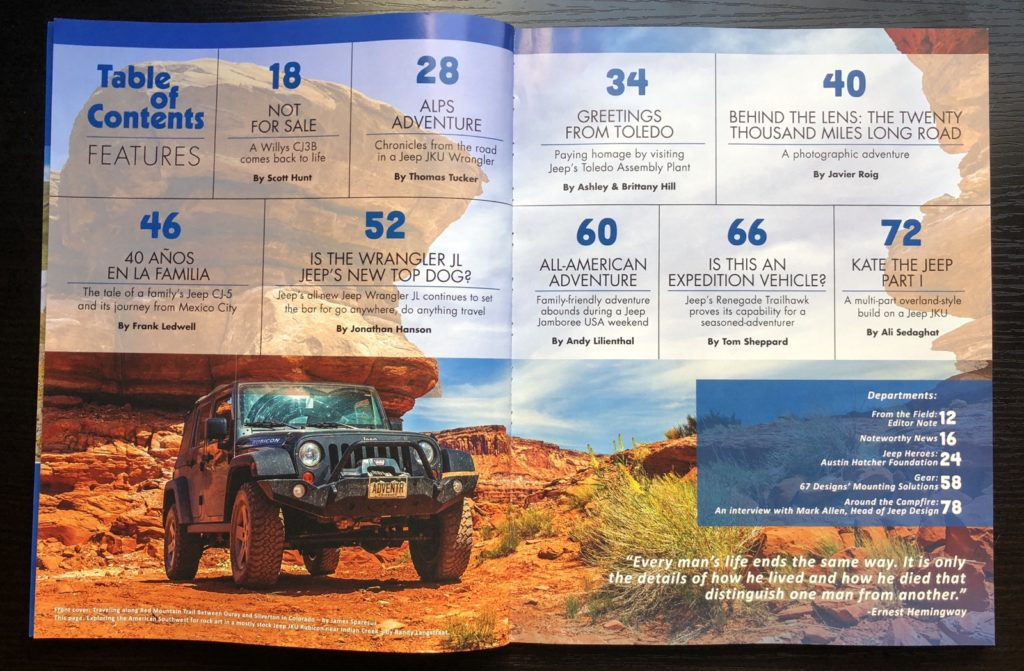 Jeepers International #1
