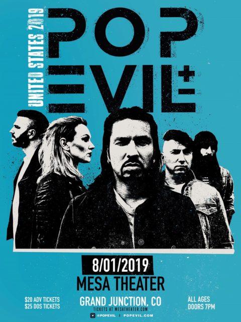 Pop Evil 2019