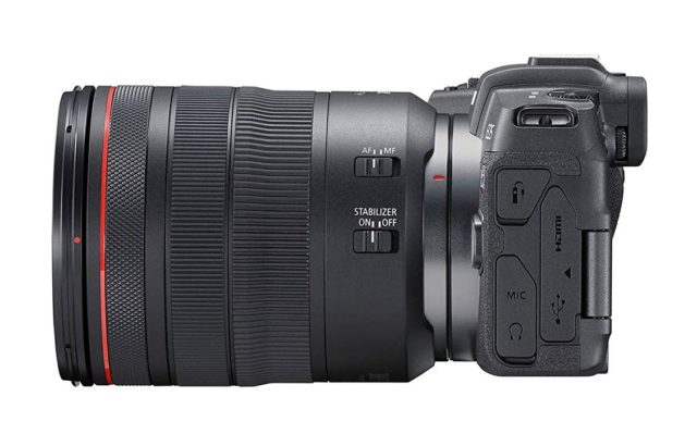 Canon EOS RP Side