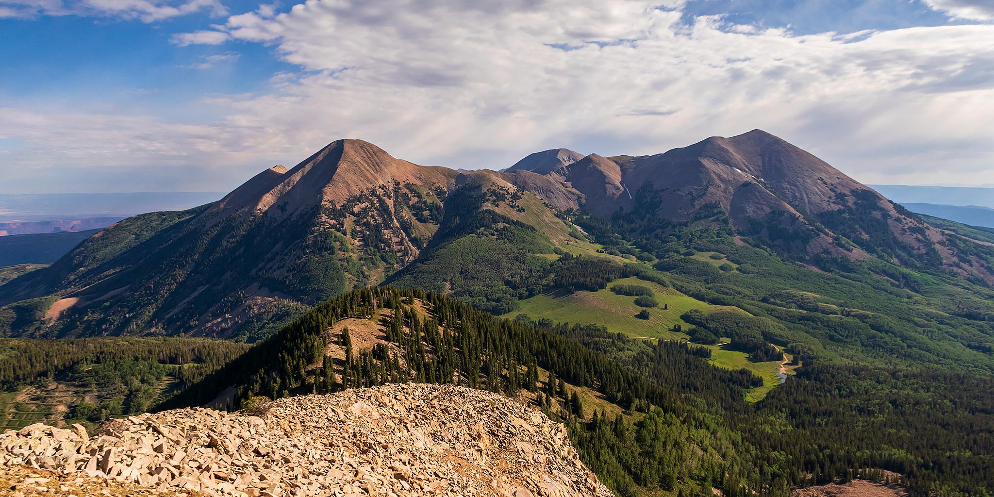 Middle La Sal Peak: Mount Mellenthin