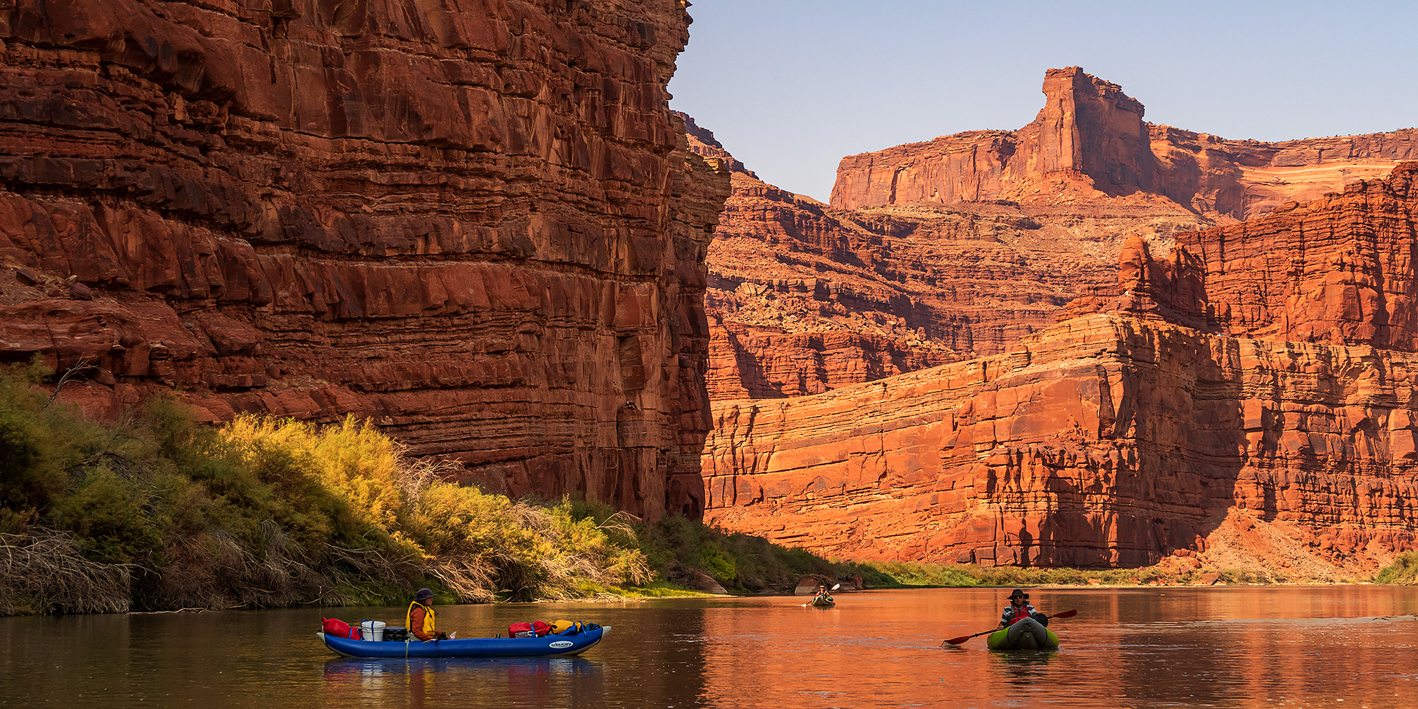 Meander Canyon: The Colorado River in Canyonlands